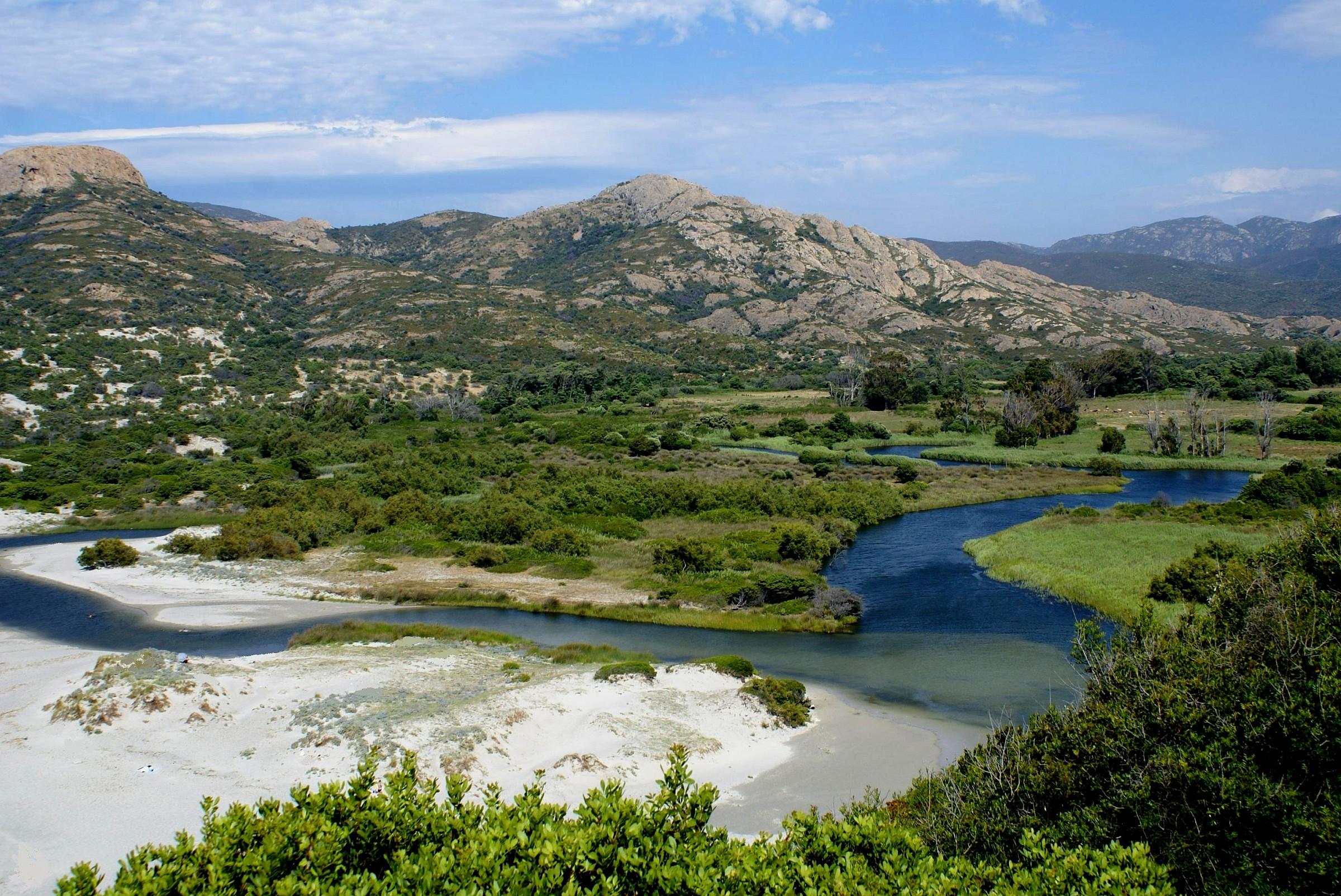 Sito del fiume Ostriconi - Désert des Agriates - Corse...