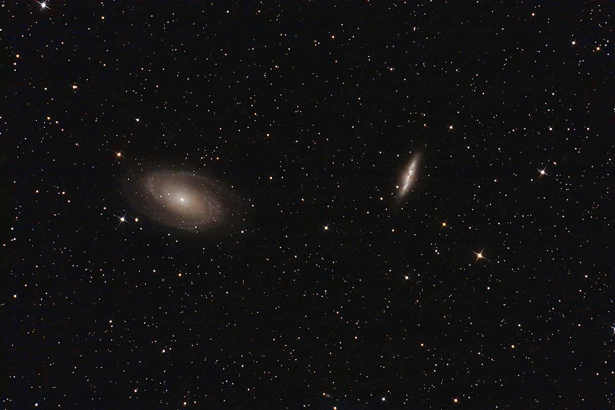 Galassie M81 e M82...