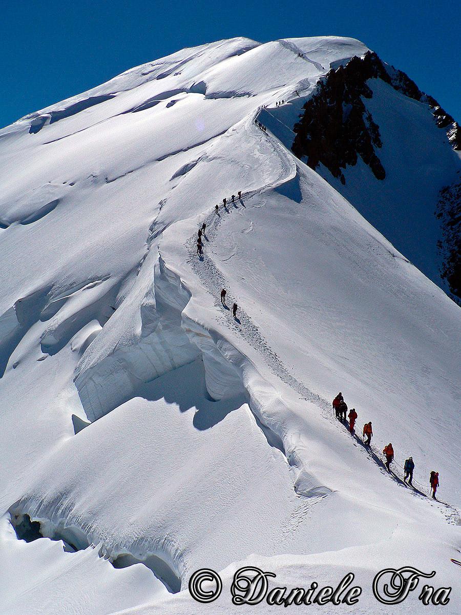 Monte Bianco (via normale Francese)...