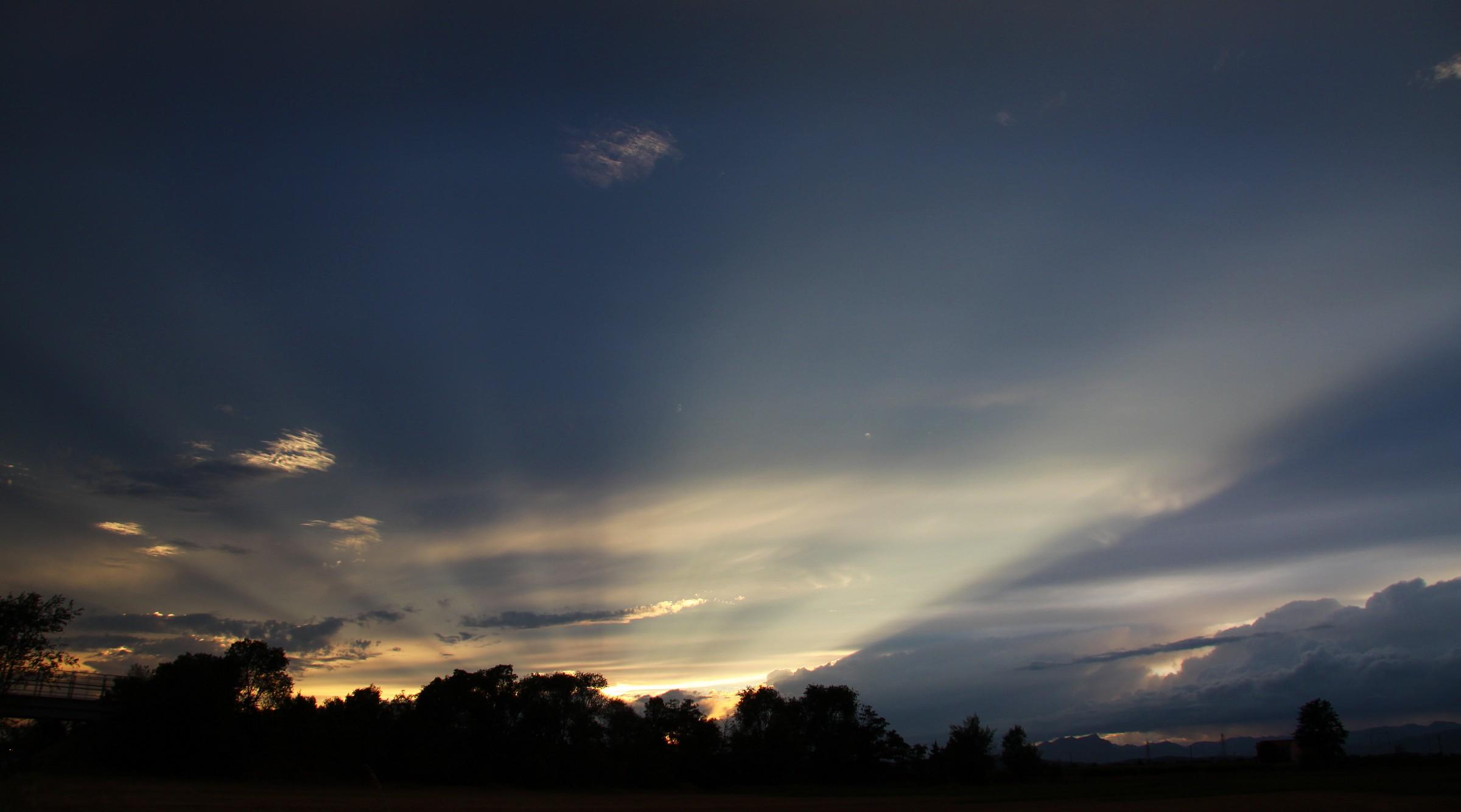 sunset on Highway 1...
