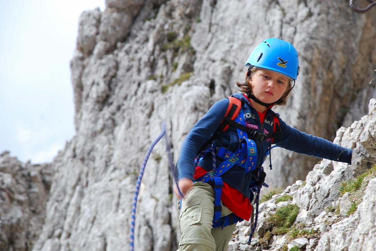 piccola alpinista...