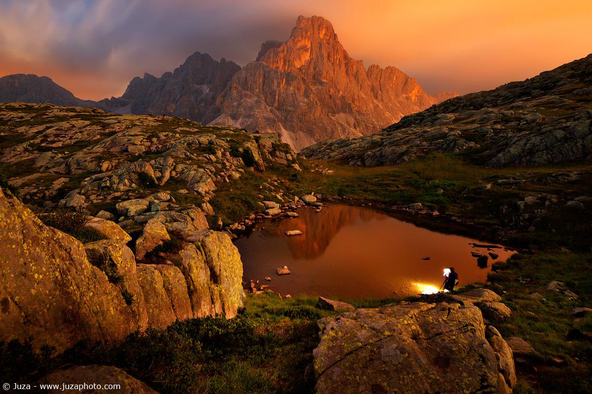 Pale di San Martino at night 015778...