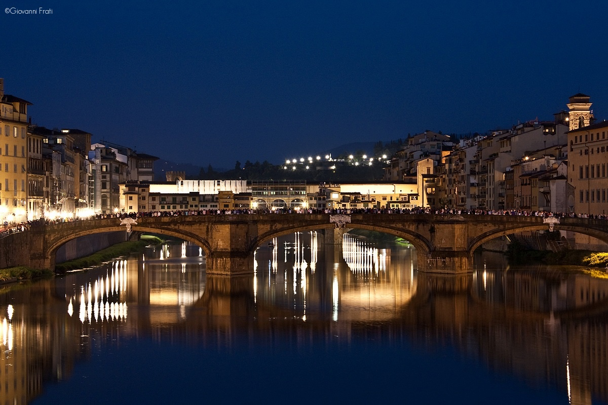 Ponte santa trinita, Firenze...