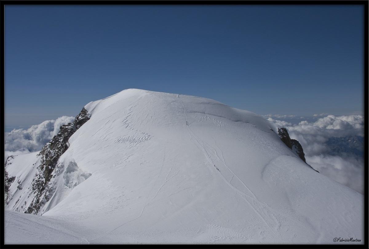 Monte Rosa, Piramide Vincent (4215mt.)...