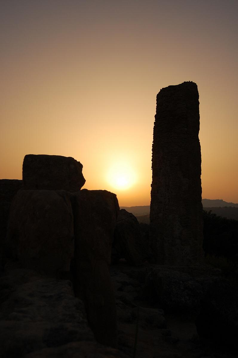 Ruins of Agrigento...