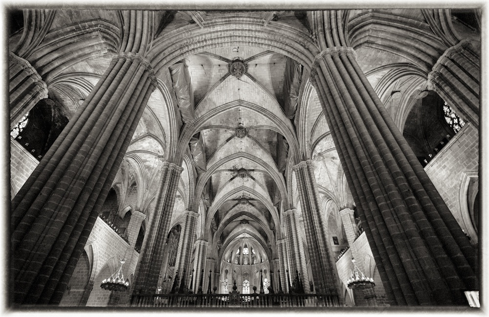 Barcelona Cathedral...
