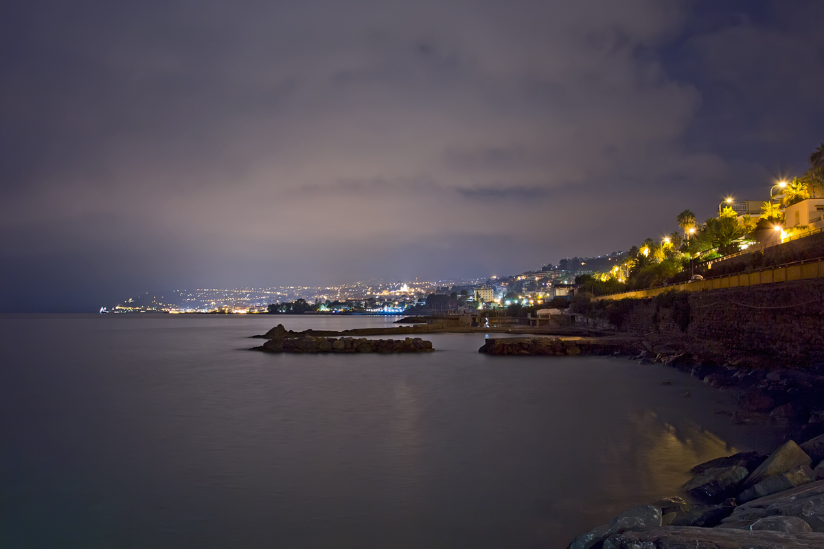 Sanremo by night...
