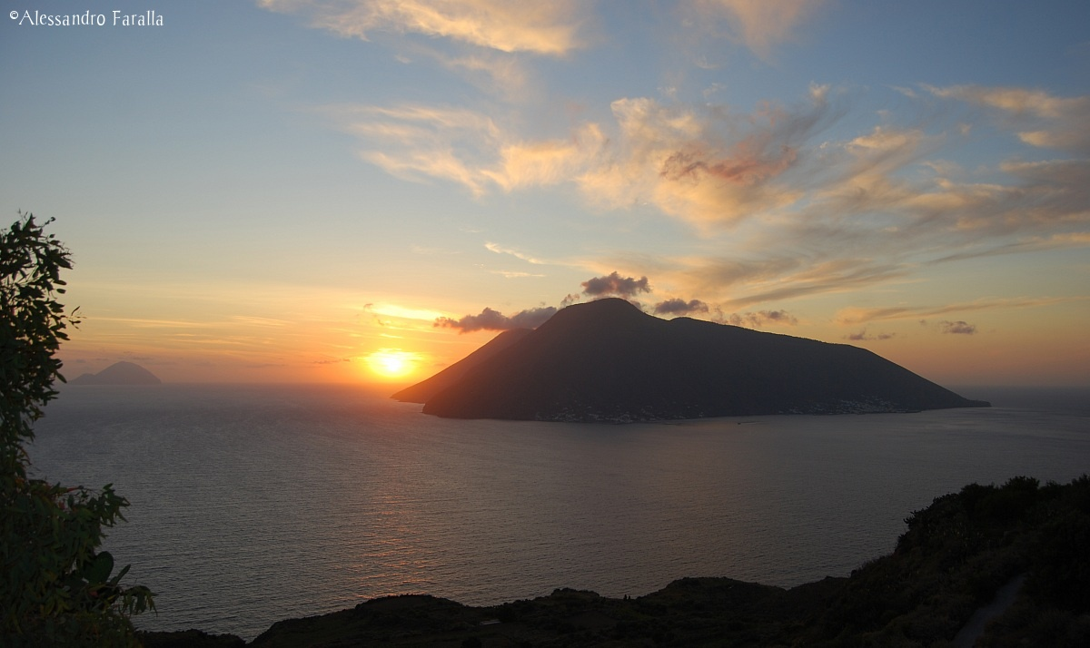 Sunset on Salina...