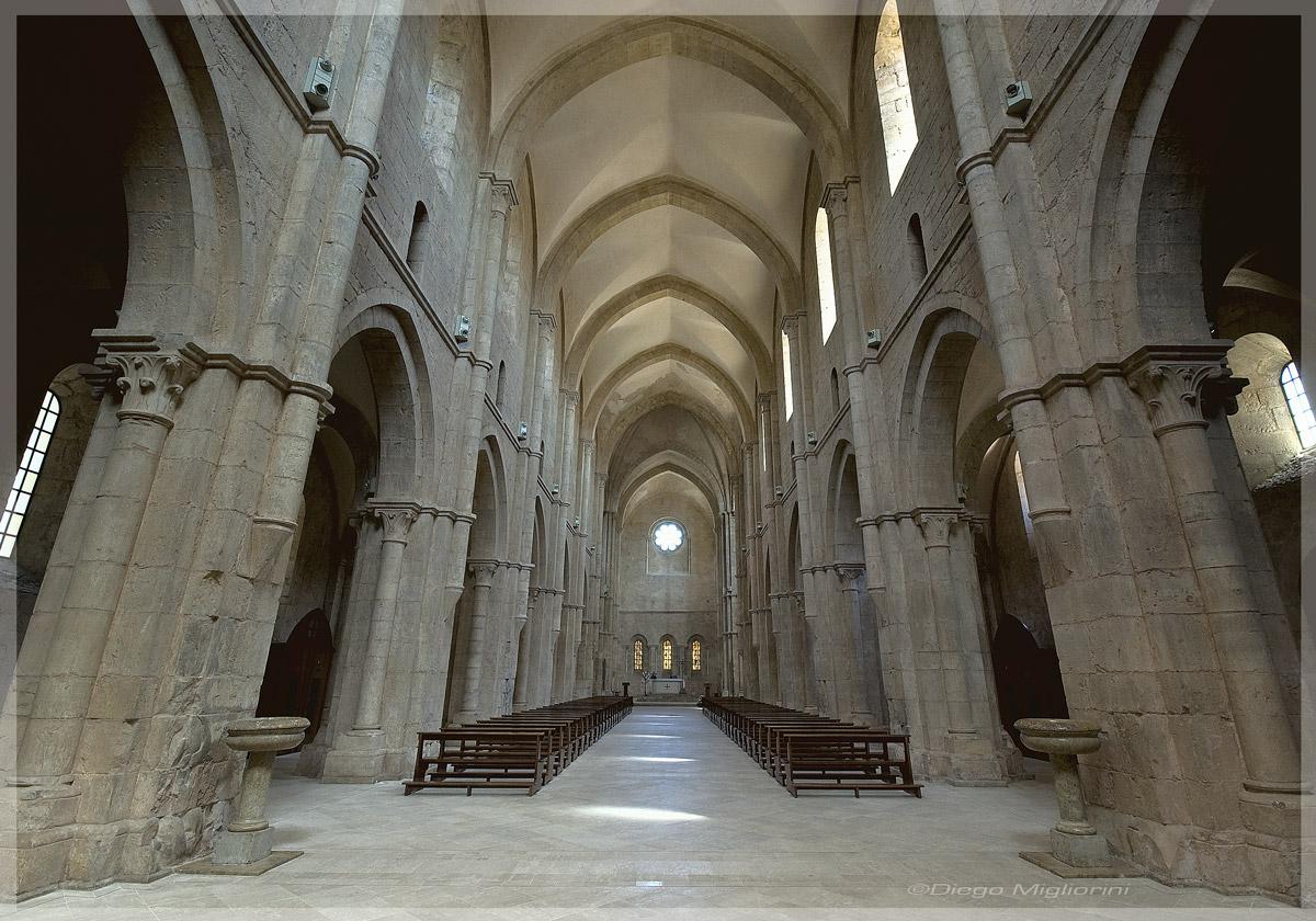Fossanova Abbey...