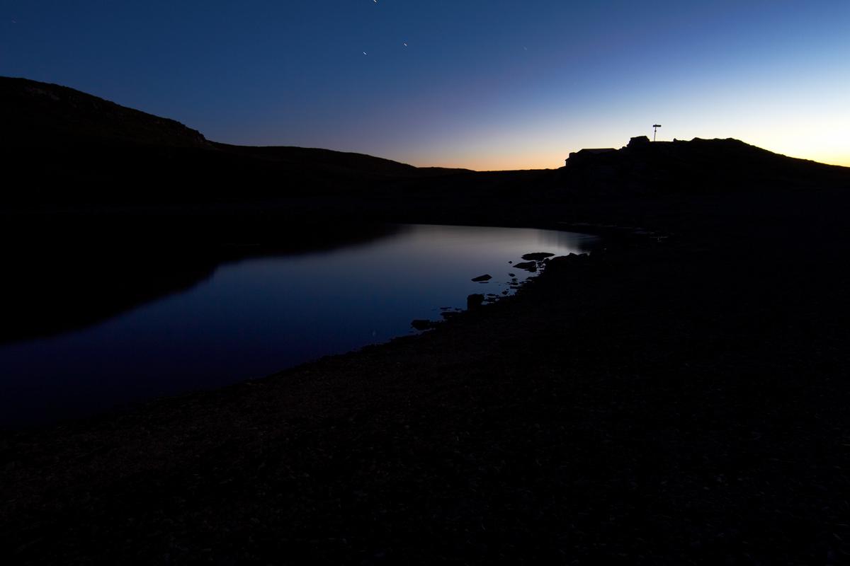 Lago Scaffaiolo in notturna...