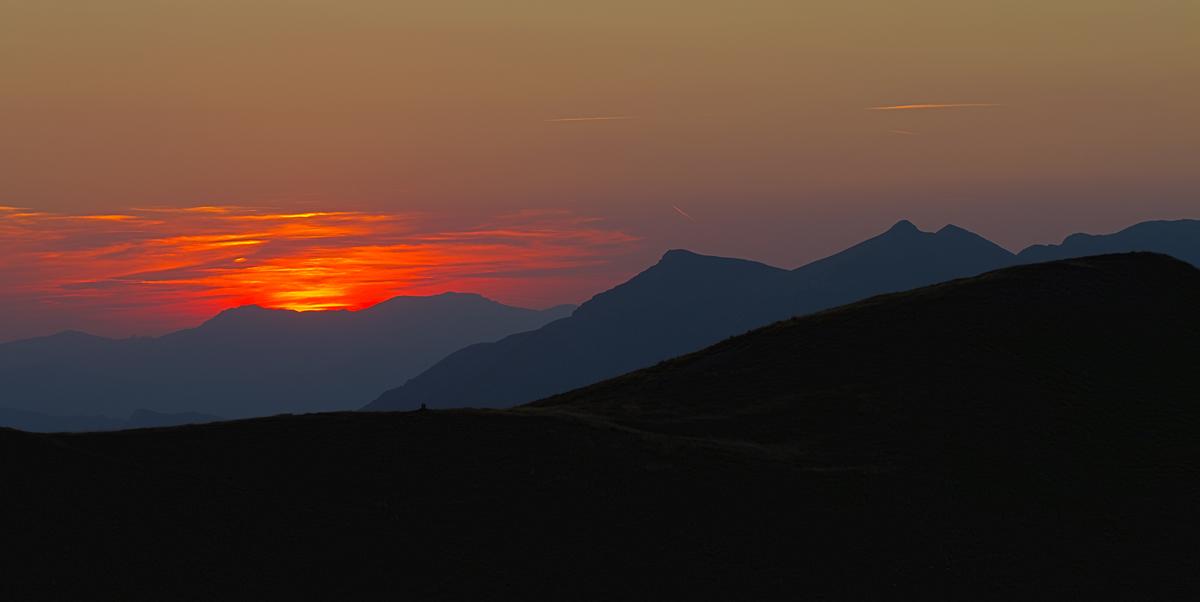 Sunset Apennine...