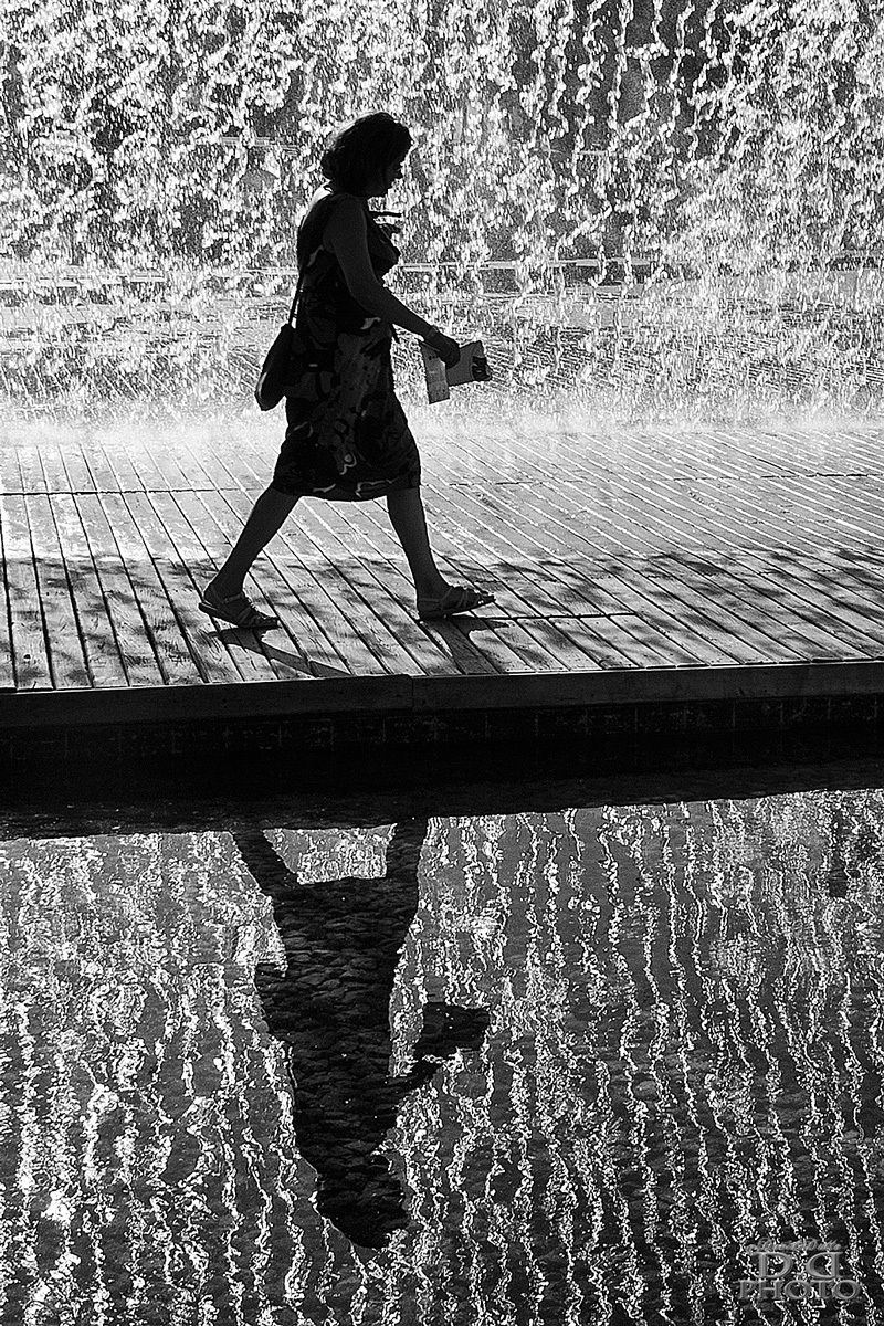 Step reflection...