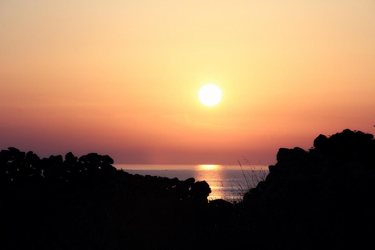 Sunset Munti Niuri San Gregorio Lecce...