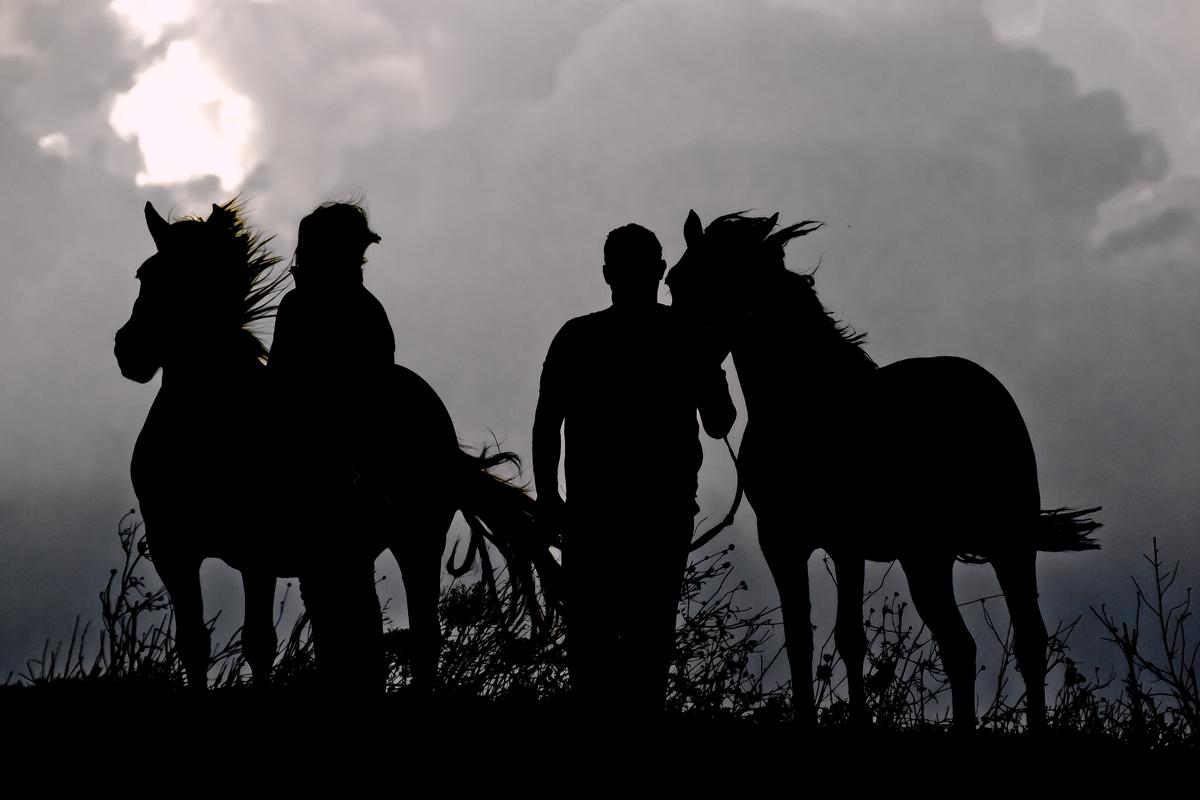 I ragazzi con i cavalli!...