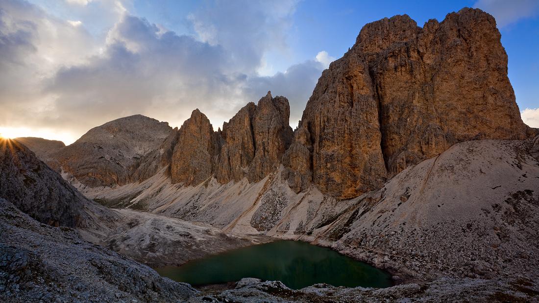 Lake Antermoia...