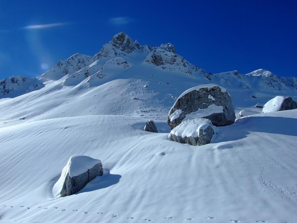 Riflessi di luce, Monti delle Mainarde...