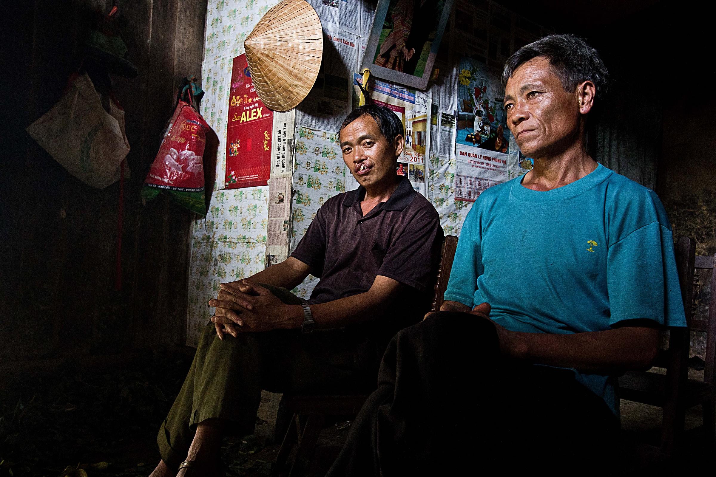 interno di una casa vietnamita.....