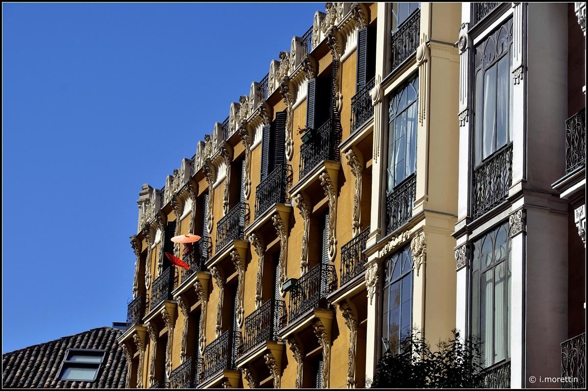 Liberty Madrid with umbrellas...