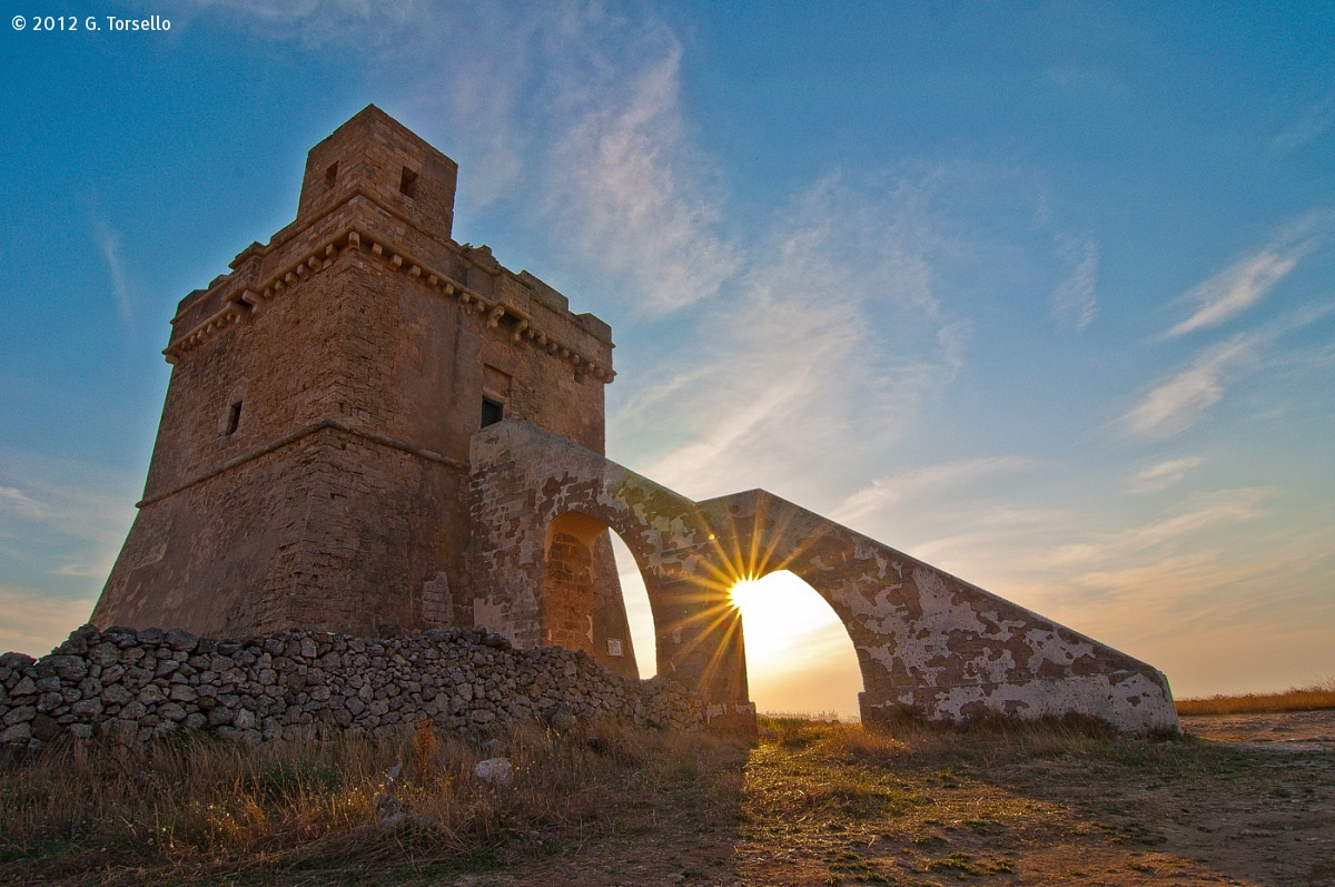 Sunset in Torre Squillace...