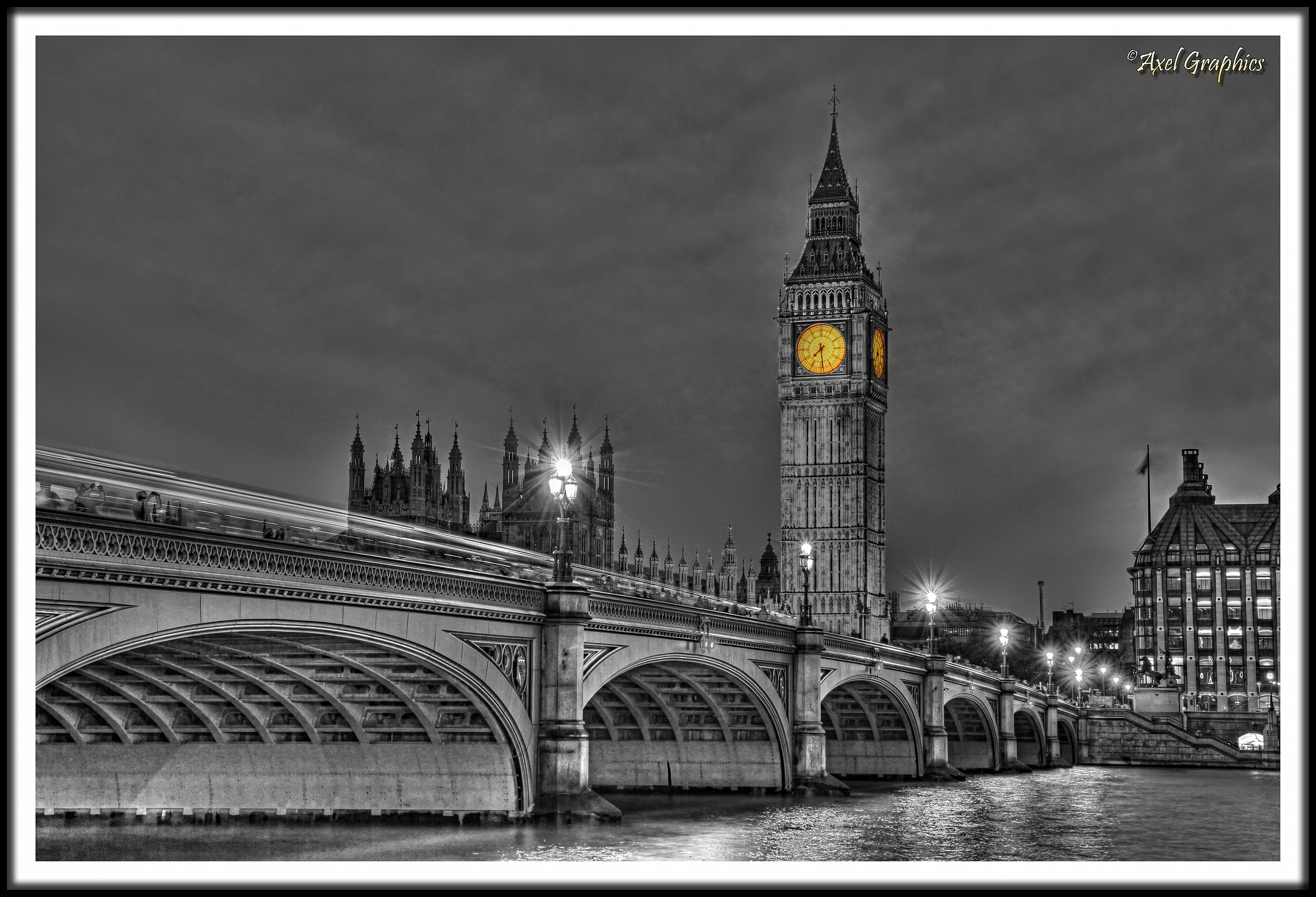 Big Ben B/W...