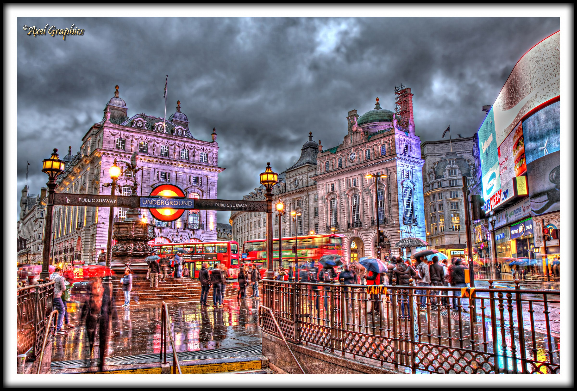 Piccadilly Circus...!...