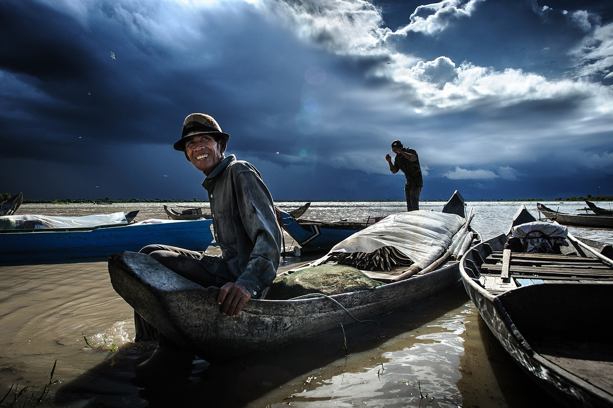 pescatori, Cambogia...