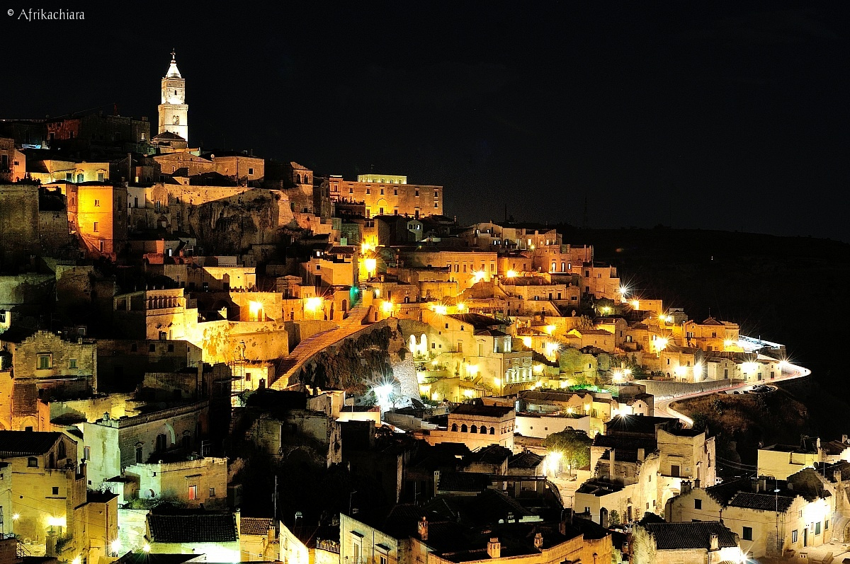 Night of the Sassi of Matera...