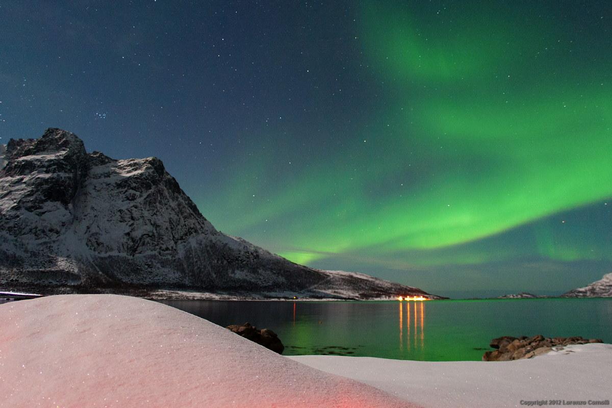 Snowed aurora...