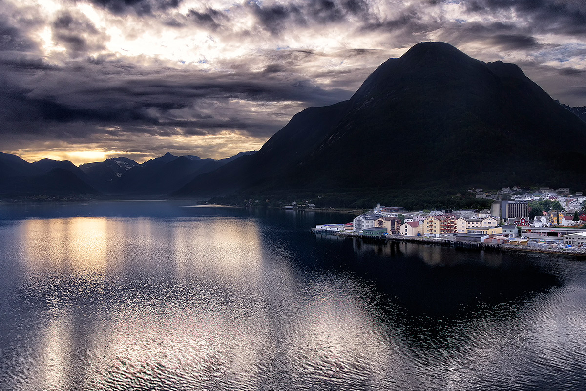 Fjords in Norway...