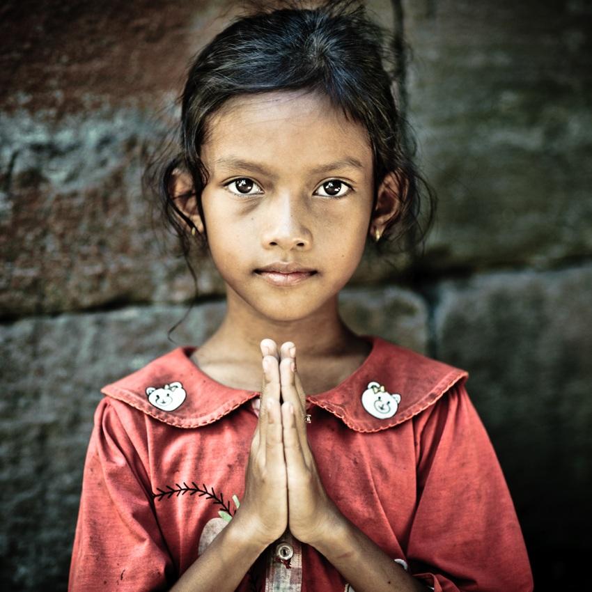 prayer, Cambodia...