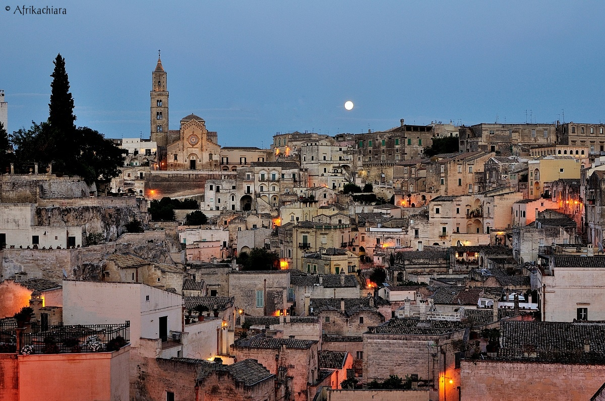 Blue Hour in the Sassi of Matera...