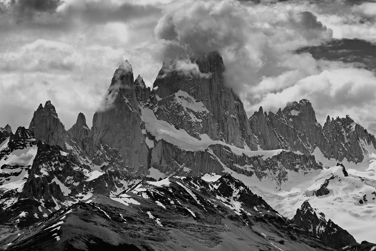Massiccio del Cerro Fitz Roy...