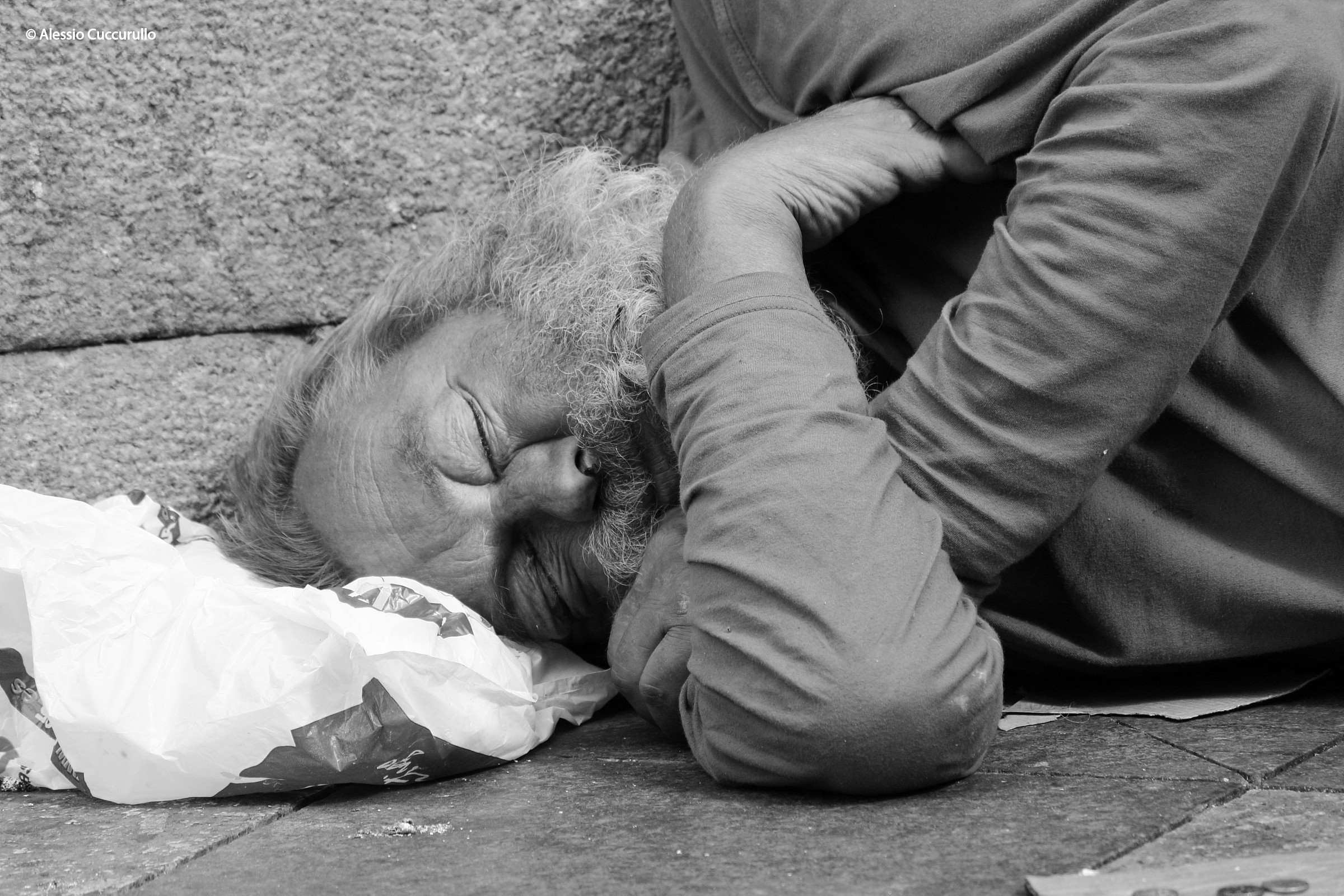 Homeless...