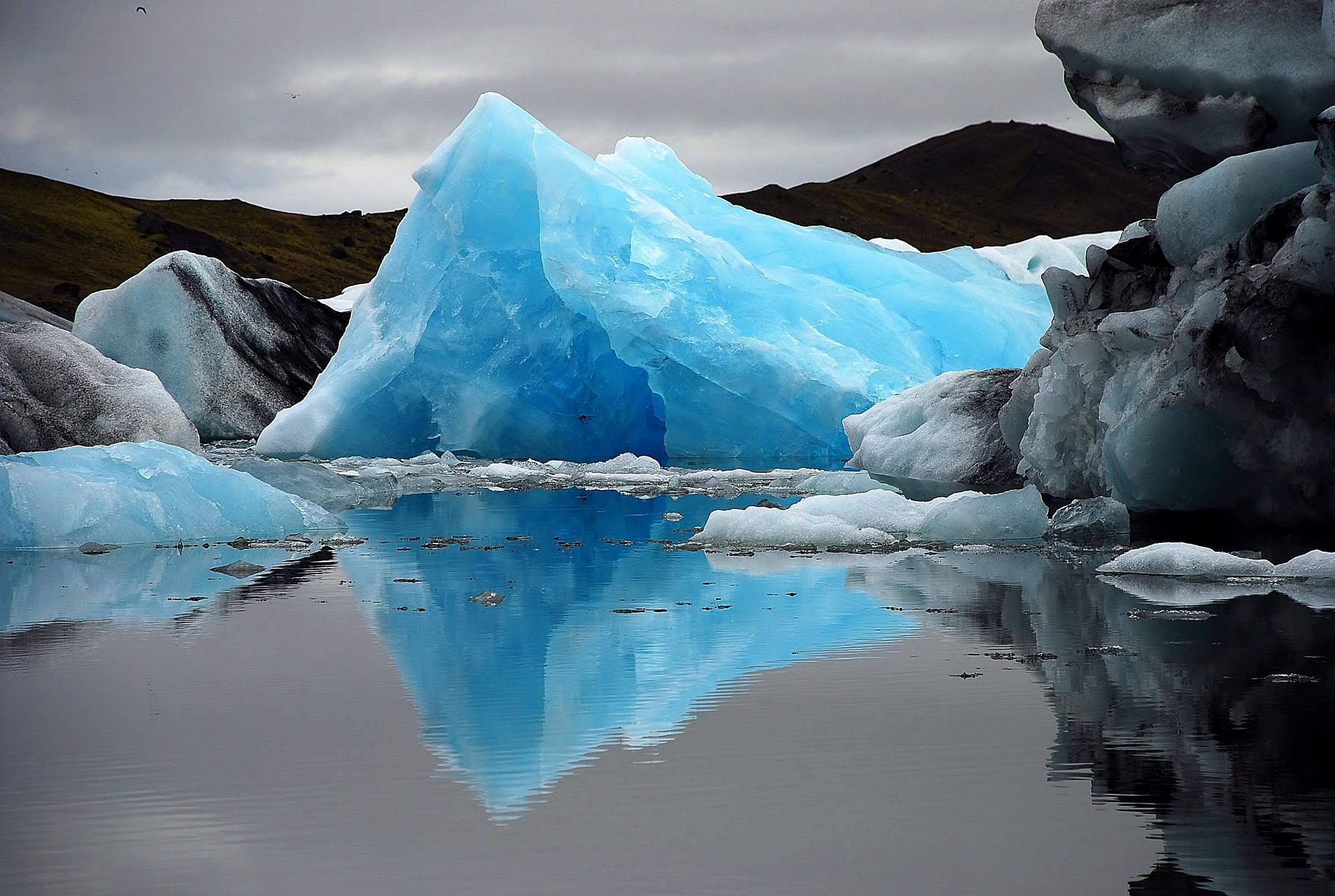Iceberg azzurro...
