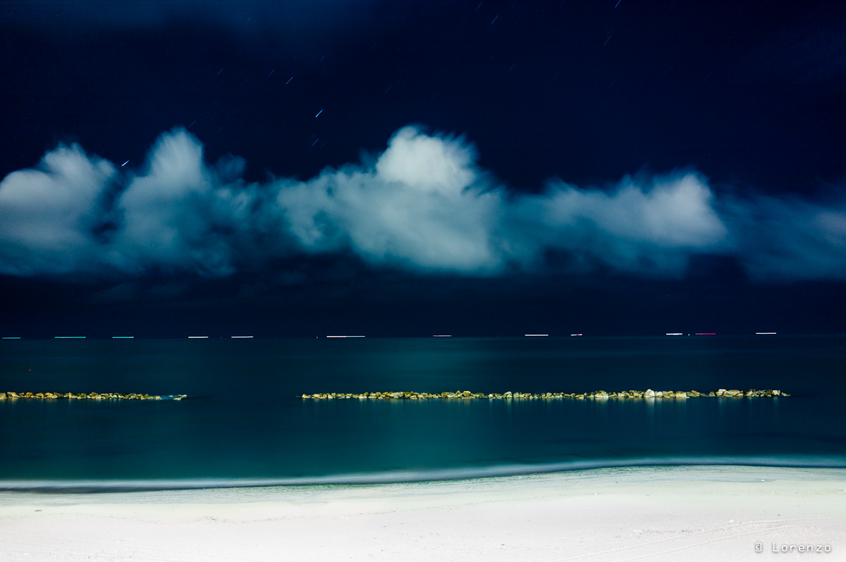 Adriatic, clouds, stars and fishing...