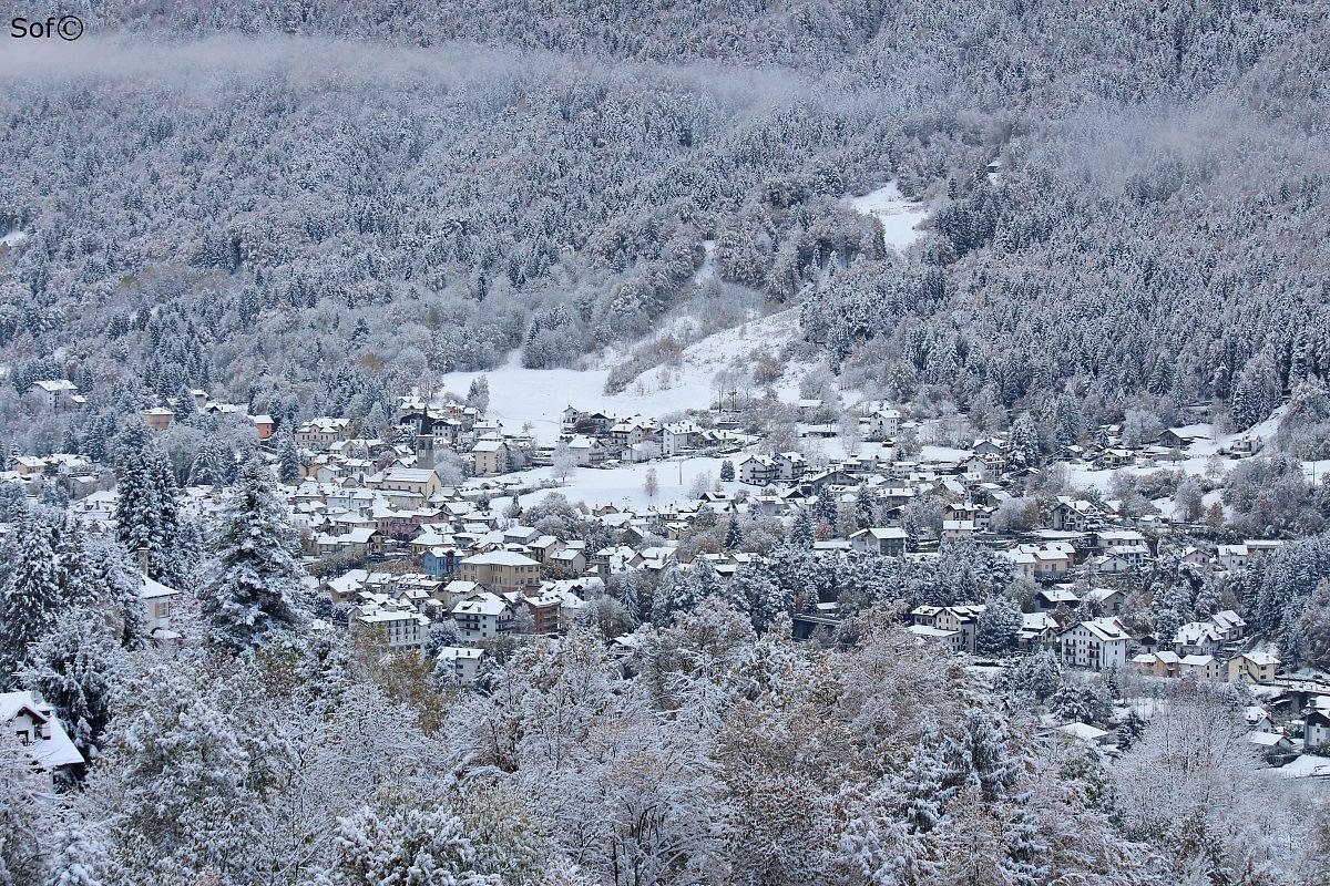 La prima neve...