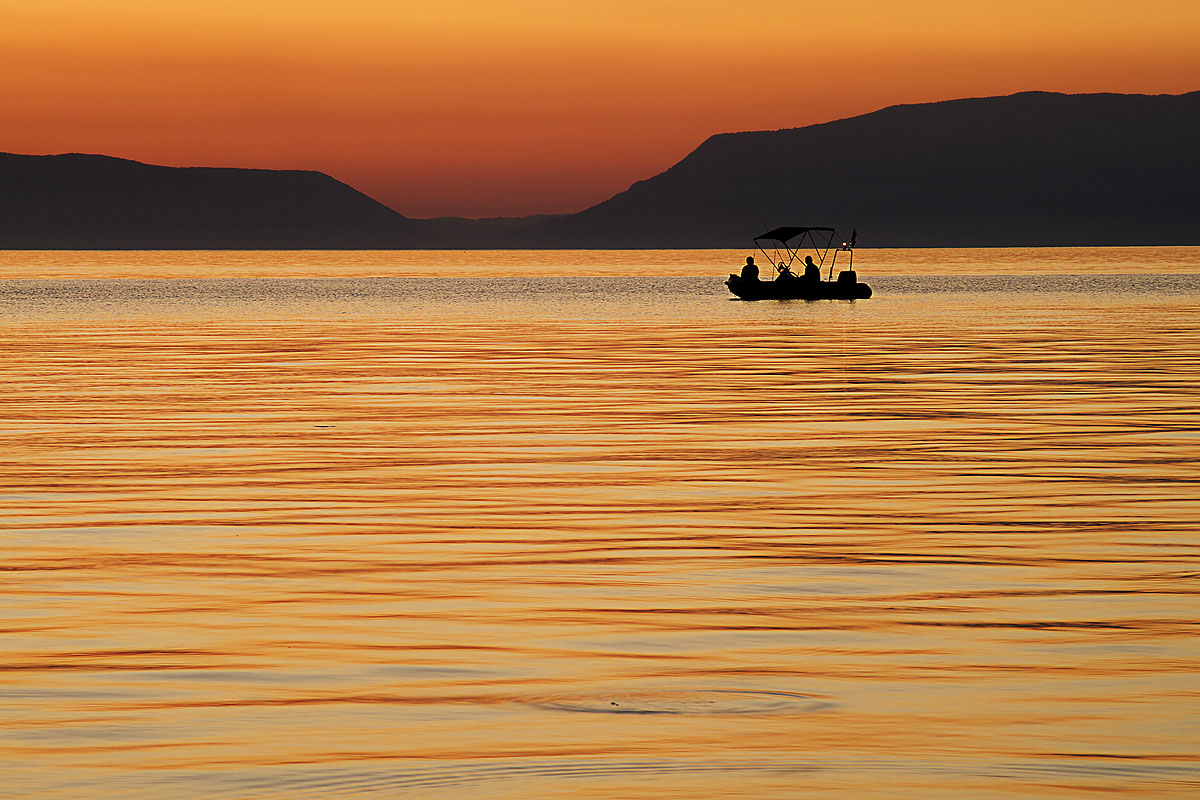 Sunset from the island of Cres...