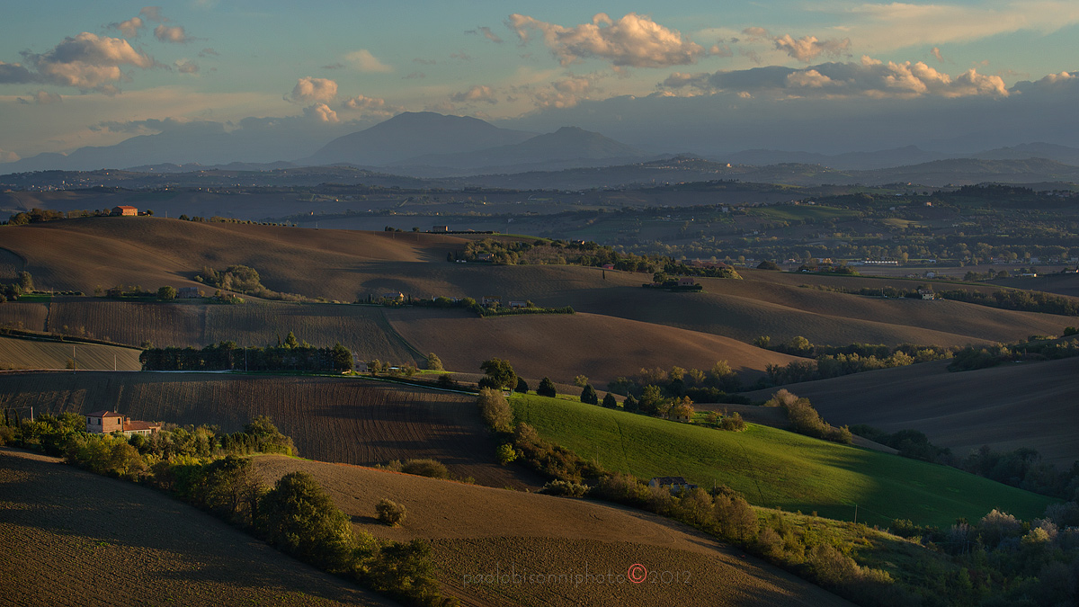Marche countryside...