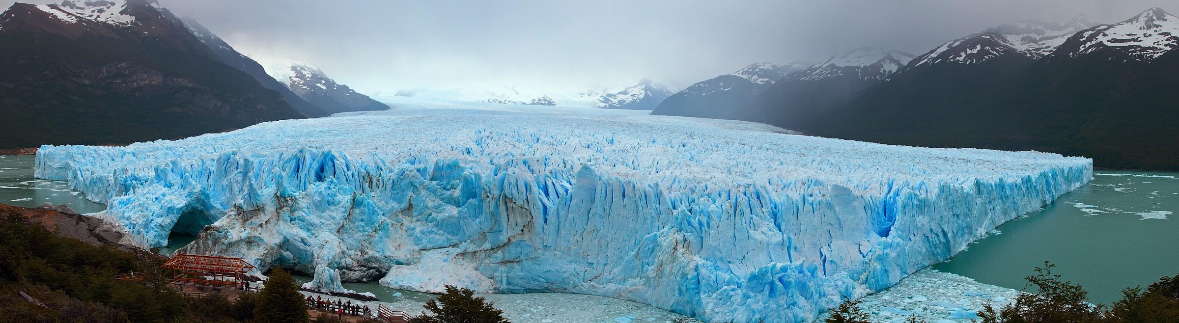 Fronte del Perito Moreno...