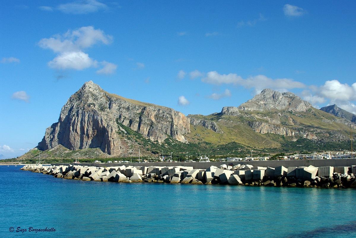 The bay of San Vito lo Capo...