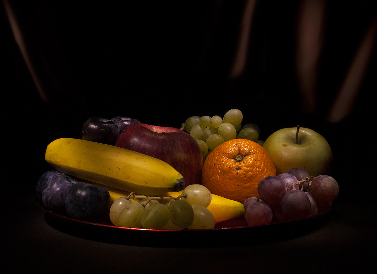 fruit plate...