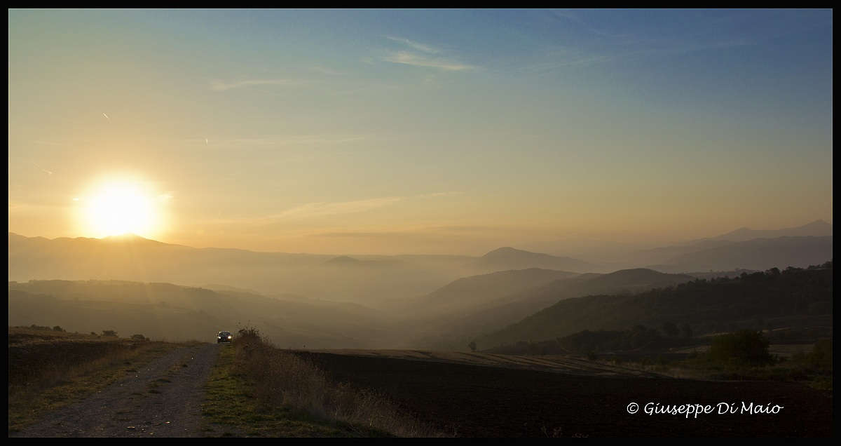 L'alba.. uno spettacolo sempre diverso!!...