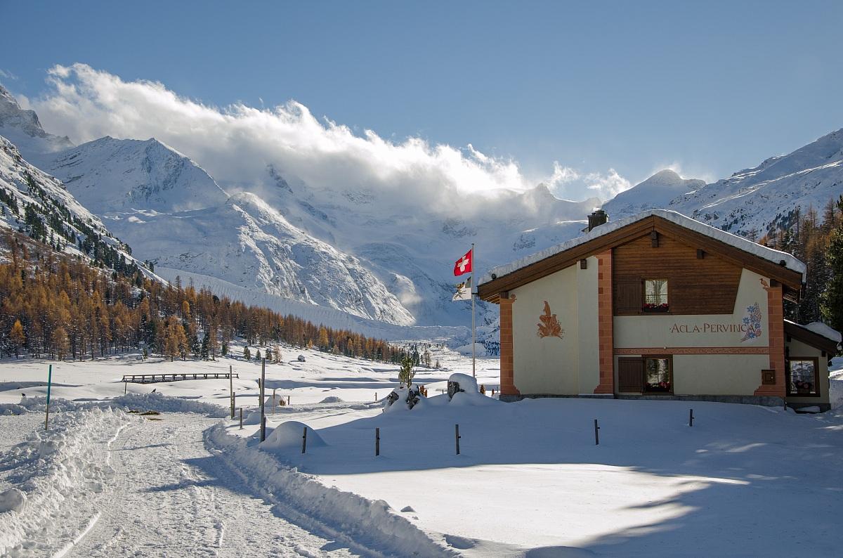 roseg gletscher hotel...