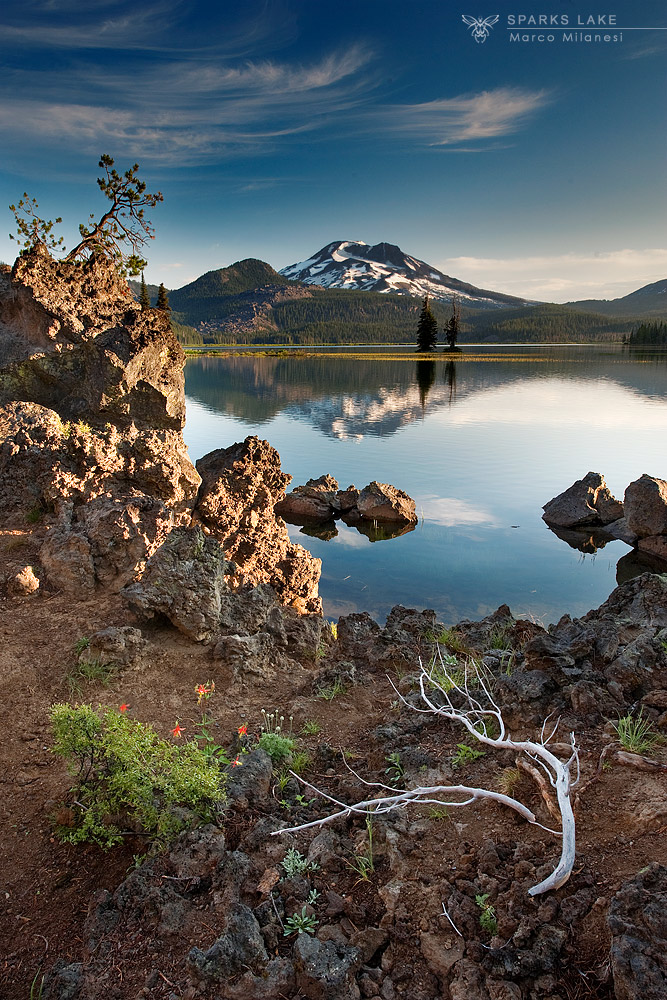 Sparks Lake...