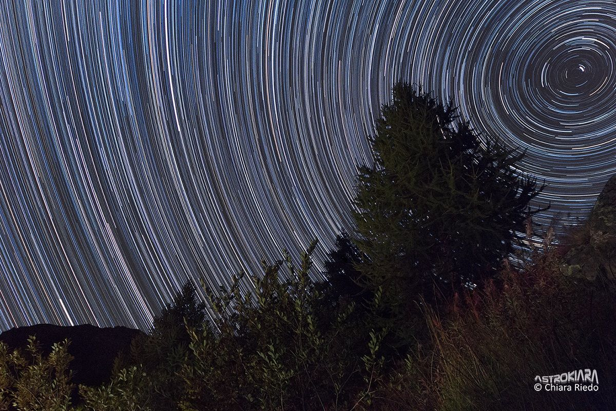 Startrails of 4 hours...