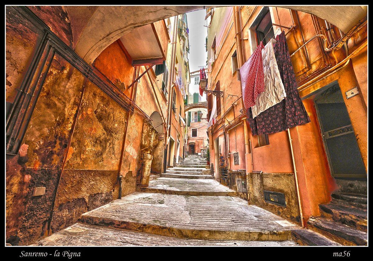 Sanremo - the pine cone HDR...