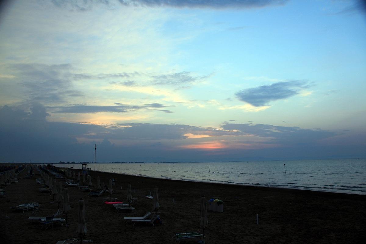 sunrise in Lignano Sabbiadoro...
