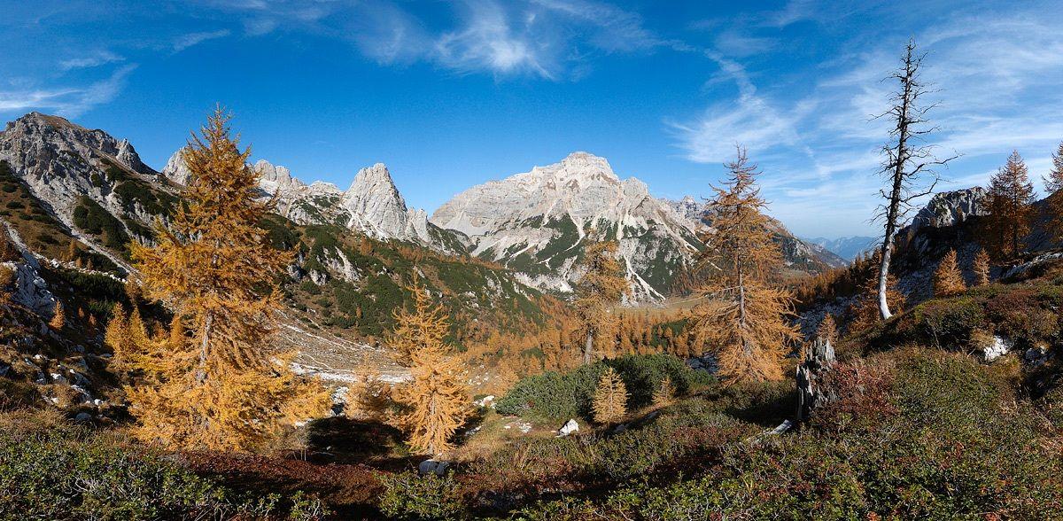 Autumn in Malga Spora...