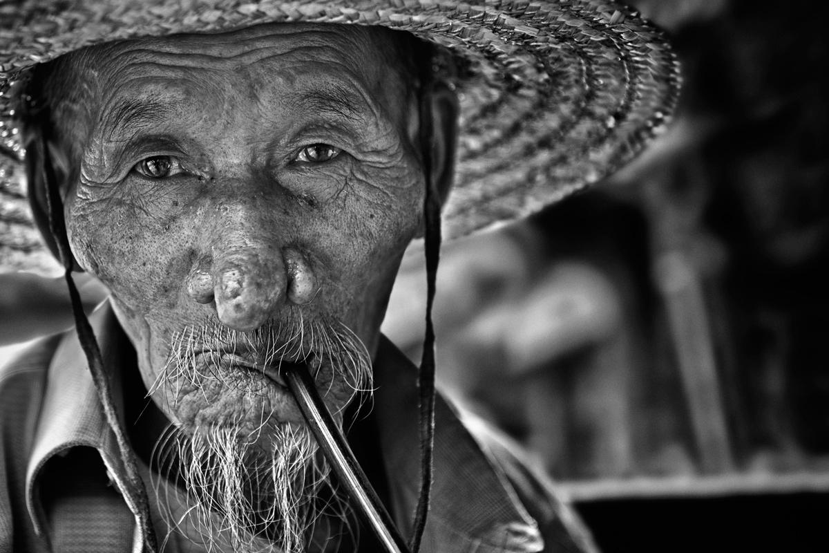Portrait, China....