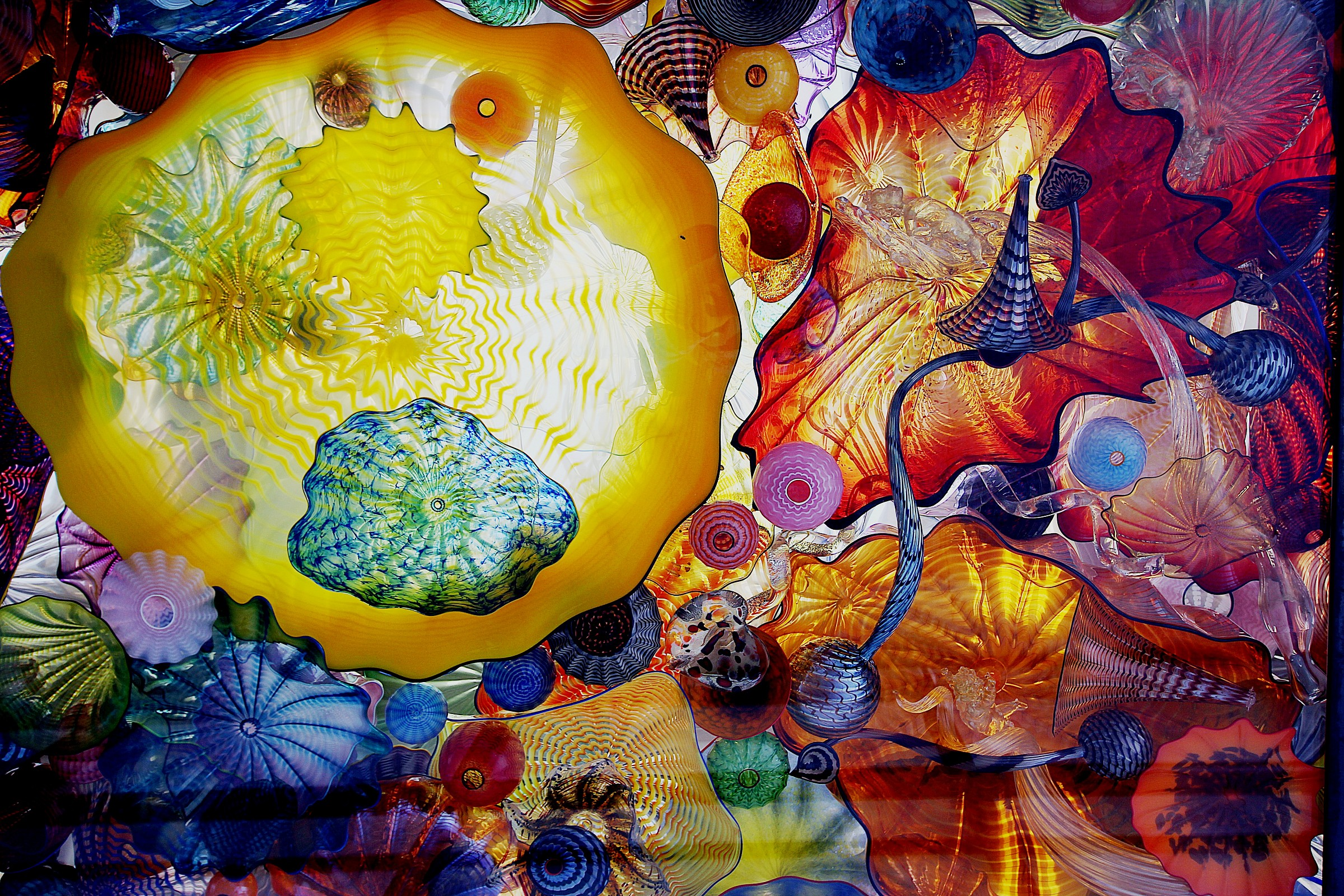 Glass Art,  Seattle museum of glass...